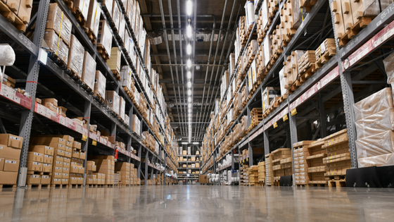 industrial warehouse at John K. Philips